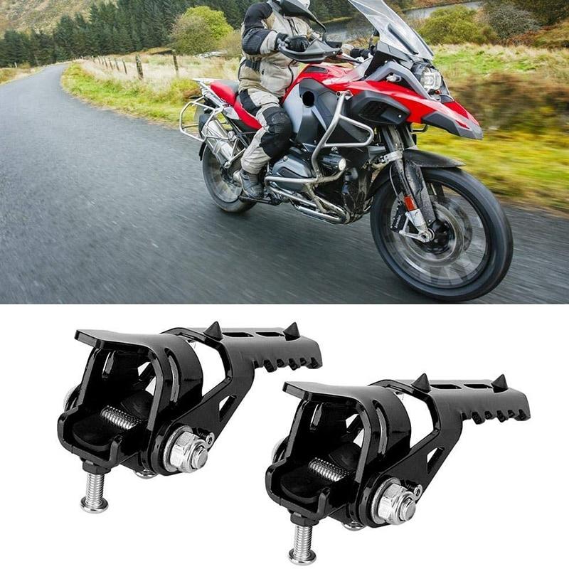 Motorcycle Engine Guard Highway Footpegs Rear Passenger Footrest 22mm / 7/8 Inch Crash Bars Mount Fits For KTM 200 390 690 990 1