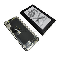 GX GS OLED Screen AMOled Hard Soft For iPhones X XS Display OLED Touch Digitizer with frame Original LCD pantalla Replacement