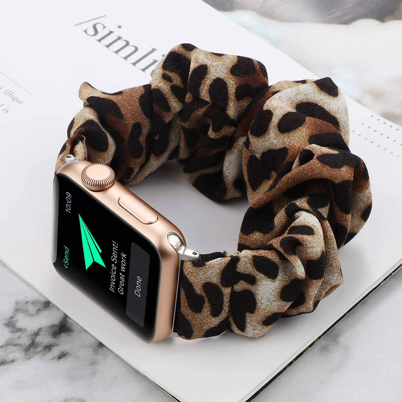75 стилей эластичный ремешок для apple watch 38 мм 42 мм 40 мм 44 мм браслет ремень женский ремешок для часов спортивный ремешок для iwatch