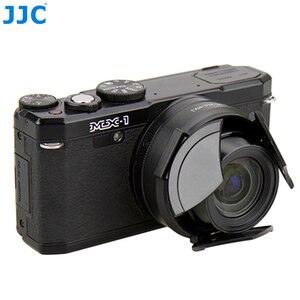 Câmera Tampa Da Lente Automática para PENTAX JJC MX-1 Protetor Preto Automático Auto-Retenção