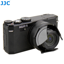 JJC Camera Auto Lens Cap for PENTAX MX 1 Black Automatic Protector Self Retaining
