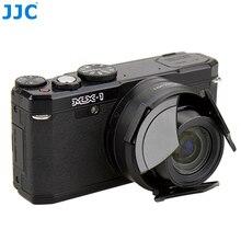 JJC, tapa de lente automática de cámara para PENTAX MX 1, negro, Protector automático, retención automática