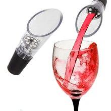 Акриловый для красного вина аэратор фильтр мини волшебный разливщик красного вина Графин колпачок для бутылок барные аксессуары портативный Разливочный инструмент насос