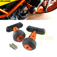 Body Frame Slider Crash Protector Fairing Guard For KTM DUKE 125 200 390 Motorcycle Accessories Falling Protection Stand Support