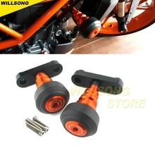 Body Frame Slider Crash Protector Kuip Guard Voor Duke 125 200 390 Motorfiets Accessoires Falling Bescherming Stand Ondersteuning
