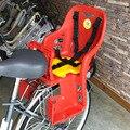 Детское сиденье для велосипеда, безопасное заднее пластиковое детское кресло большого размера, детское сиденье