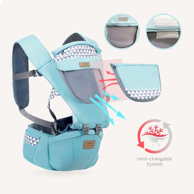 Regulowany 0-36M ergonomiczny nosidełka dziecięce plecak przenośny chusta do noszenia dzieci Wrap bawełna Manduca niemowlę noworodka kangur torba Hipseat