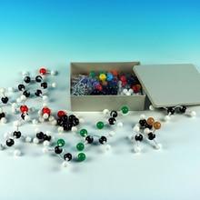 Apropriado para o ensino e laboratório lnorganic/química orgânica tutorial estrutura molecular química modelo kit de ferramentas de ensino