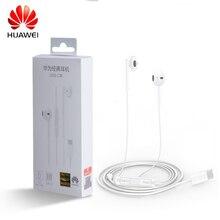 Oryginalny HUAWEI CM33 słuchawki rodzaj usb C w ucho Hearphone zestaw słuchawkowy Mic objętość HUAWEI Mate 10 20 30 Pro 20 X RS P10 20 30 uwaga 10