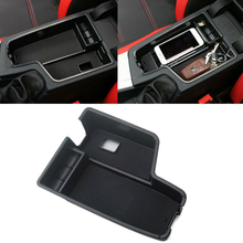 1 PC Car Center Console Armrest Storage Box Black Plastic Tray Case Fit For BMW 3 Series F30 2013-2016