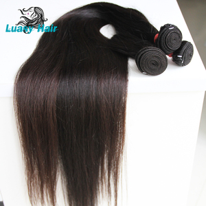 Image 4 - Luasy Brazilian Hair Weave Bundles Straight 100% Remy Hair Extension Natural color 30 32 34 36 38 40 inch Human Hair Bundles