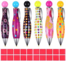 New Offer Pen Diamond Painting Tool Cute Point Drill Embroidery Accessories Cross Stitch Kits