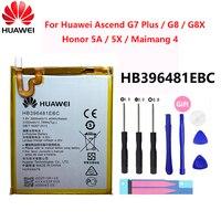 Hua Wei Original Ersatz Telefon Batterie HB396481EBC Für Huawei Ascend G7 Plus / G8 / G8X / Honor 5A / 5X / Maimang 4 3000mAh