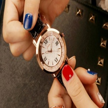 Top Women's Watches Brand Luxury Fashion Ladies Watch Leather Watch women Female Clock Quartz Wristwatches reloj mujer relogio цена