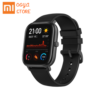 NEW Amazfit Global Version GTS Smart Watch 5ATM Waterproof Swimming Smartwatch 14Days Battery Music Control for Xiaomi IOS Phone