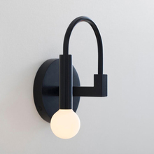 Nordic Simplicity LED wall lamp Rotatable black indoor bedroom bedside living room wall sconces loft corridor lighting fixture