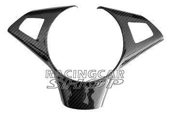 Real Carbon Fiber M sport steering Wheel Trim Cover for BMW E60 E61 E63 E64 M5 M6 5-series B314Y 1