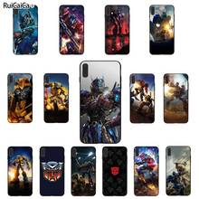 Ruicaica Transformers  Black TPU Soft Silicone Phone Case For iPhone 6 6S 7 8 Plus X XS MAX 5 5S SE XR 11 pro max Coque Shell webbedepp jack skellington silicone soft case for iphone 5 se 5s 6 6s plus 7 8 11 pro x xs max xr