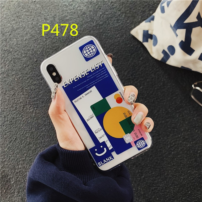 For iPhone case 6s 6plus 7plus 8plus xs max xr fashion Transparent cute phone cover 11 pro x 5s se 5 6 7 8 shell nice TPU Coque
