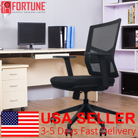 10pcs Office Meeting Chair Breathable Mesh Commercial Furniture Executive Chairs Home Computer Chair Safety Swivel Office Chairs