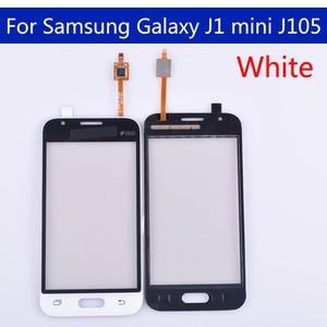 Image 4 - J105 10pcs \ lote Para Samsung Galaxy J1 mini J105 J105H J105F J105B J105M SM J105F Touch Screen painel de Digitador de Vidro Touchscreen