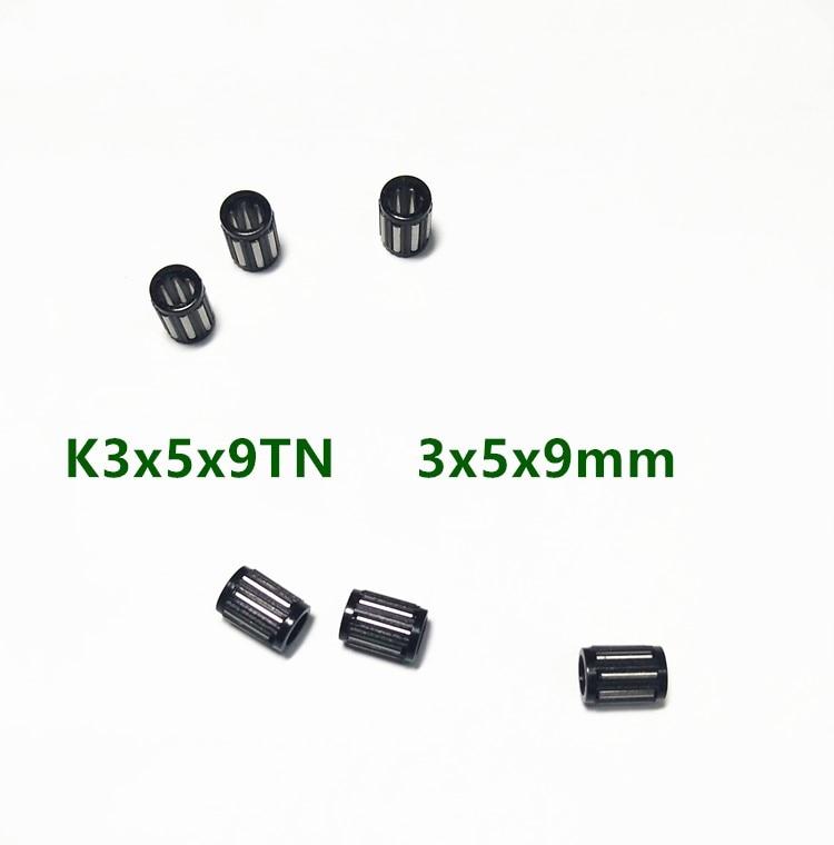 100pcs/500pcs  K359 K030509 K3X5X9 K3*5*9 TN Radial Needle Roller Cage Assemblies 3x5x9mm Needle Roller Bearing 3mm * 5mm * 9mm