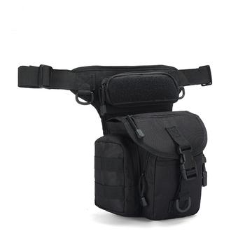 Wojskowa saszetka na pas broń taktyka jeździć saszetka na nogę dla mężczyzn wodoodporna typu Drop użyteczna saszetka na udo uniwersalny pas biodrowy tanie i dobre opinie mylb CN (pochodzenie) Oxford TOREBKI BIODROWE
