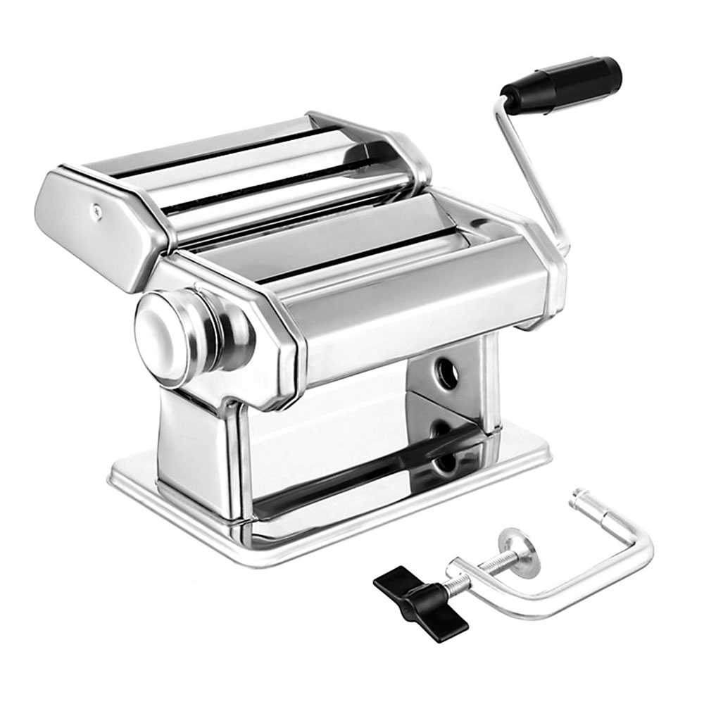 In Stock! Noodle Cutter Robust Homemade Pasta Machine 7 Thickness Settings Fit For Fresh Macaroni Lasagna Roll Noodle Machine