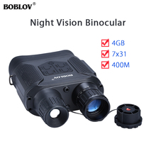 NV400 Day & Night Vision Infrared 7x31 Zoom Binocular Scope Telescope Device 4GB 720P 400M Hunting Outdoor Travel Camping Camera