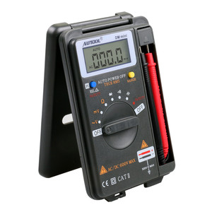 Image 2 - AUTOOL DM Mini Digital Multimeter 4000แสดง,DC/ACโวลต์มิเตอร์,NCV Ohm Capacitance,hzความต้านทาน,โวลต์มิเตอร์รถTest