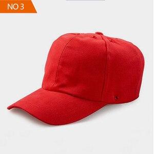 Image 3 - 安全バンプキャップ職場建設現場帽子と通気性ハード帽子ヘッドヘルメット反射ストライプ軽量