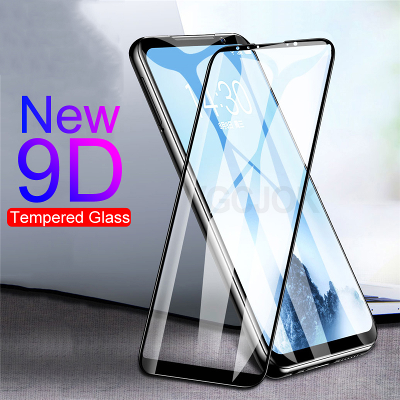 9D Protective Glass On For <font><b>Meizu</b></font> <font><b>16</b></font> 16th 16S 16X 16XS Note 8 Tempered Glass X8 V8 <font><b>Pro</b></font> M8 Note 9 Full Cover Screen Protector Film image