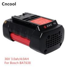 36v 3.0Ah/4.0Ah Li-ion power tool battery Replacement For Bosch 2 607 336 108 2 607 336 108 BAT810 BAT836 BAT840 D-70771 free shippingnew replacement power tool battery plastic case and hardwares for bosch 24v