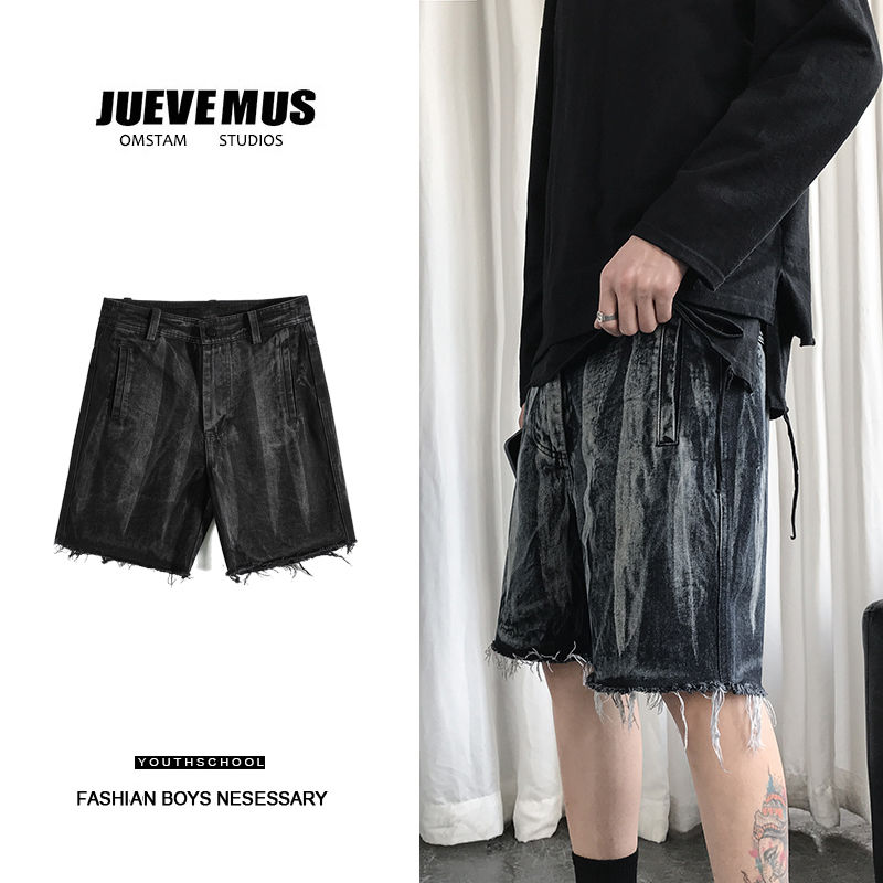 Men's shorts 2020 summer new slim-fit five-minute pants camouflage straight-leg cargo shorts loose casual youth men's wear