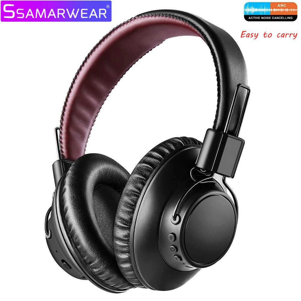 AN07 auriculares ANC inalámbricos Bluetooth auriculares deportivos de alta fidelidad auriculares con micrófono de Audio rápido de baja latencia para juegos de TV