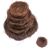 Винтажное круглое ротанговое Птичье гнездо 8 25 см поделка ручной