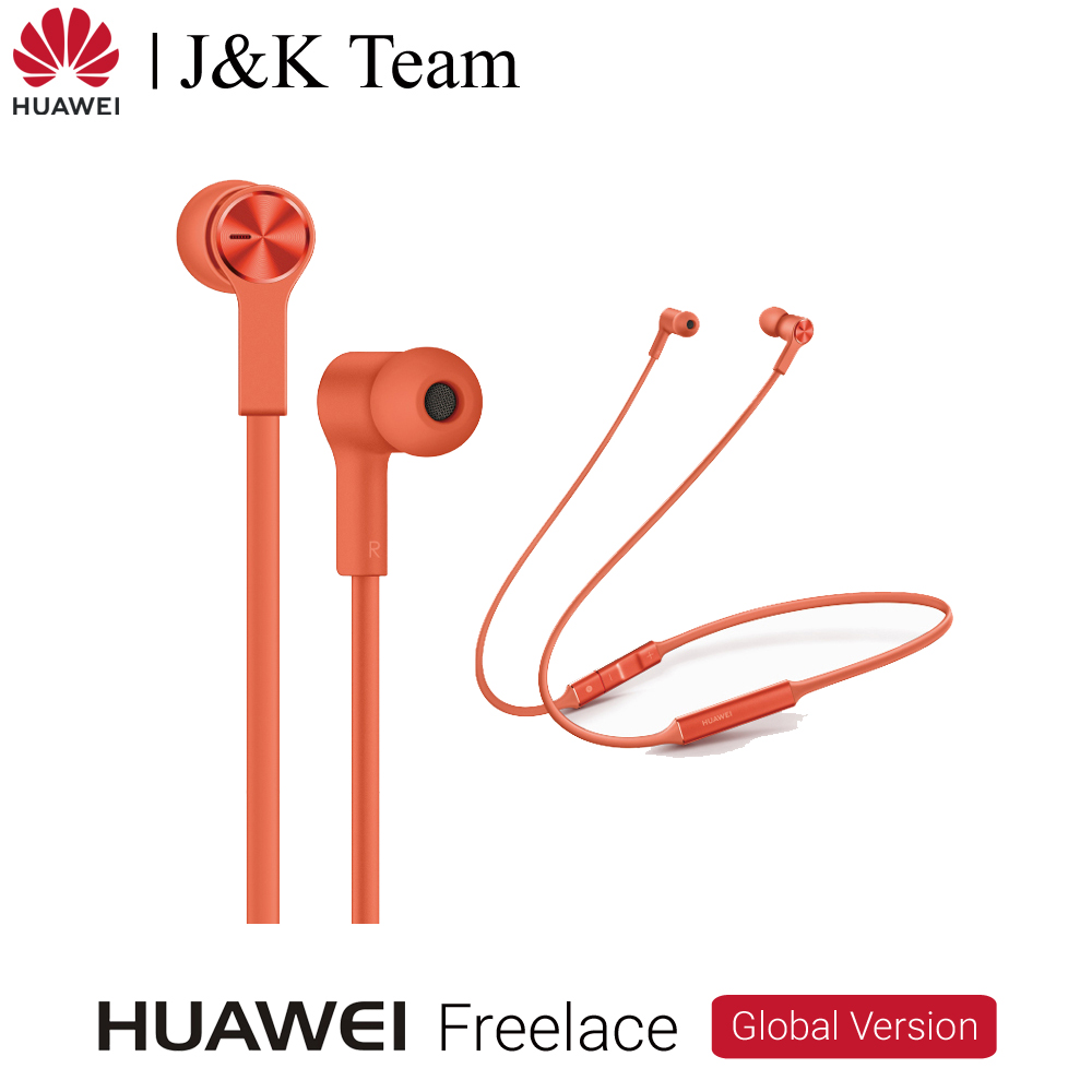 Huawei FreeLace Wireless Headsets Sport Earphone Huawei Bluetooth 5.0 Memory Cable Metal Cavity Liquid Silicon MAGNETIC SWITCH-in Bluetooth Earphones & Headphones from Consumer Electronics on AliExpress