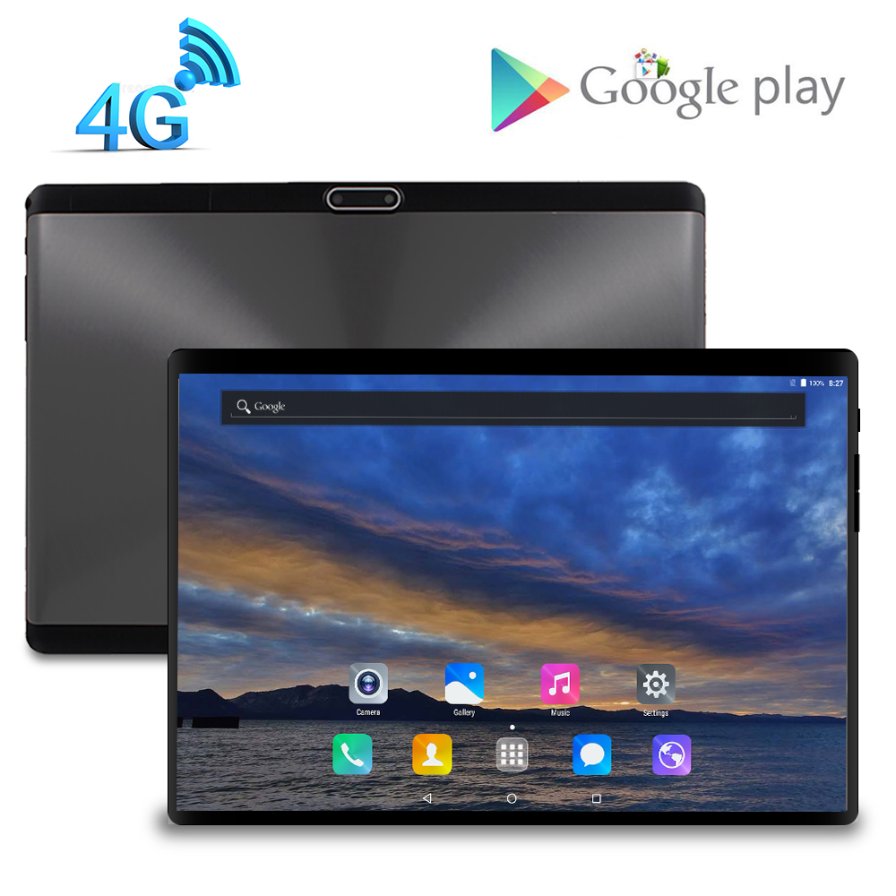 LZWIN 10 Inch Tablet 3GB RAM 32GB ROM Storage Octa Core 10.1 IPS 1920*1200 HD Display Micro Android Tablets 4G LTE 8.0 Camera