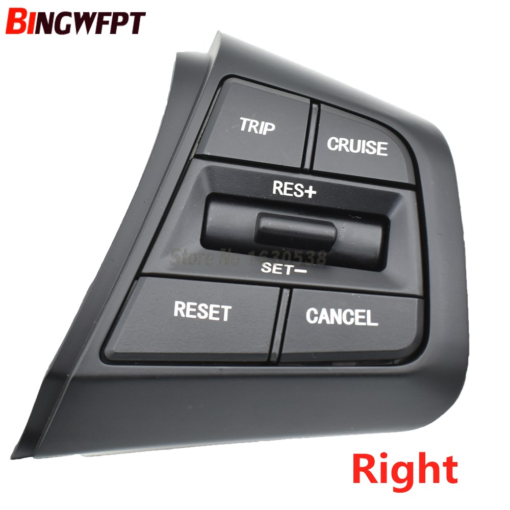 Steering Wheel For Hyundai Ix25 Creta 1.6 Buttons Bluetooth Phone Cruise Control Remote Control Button The Right Side