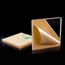 6 мм прозрачный акриловый лист квадратный Плекси Стекло Акриловая доска органическое стекло полиметил метакрилат