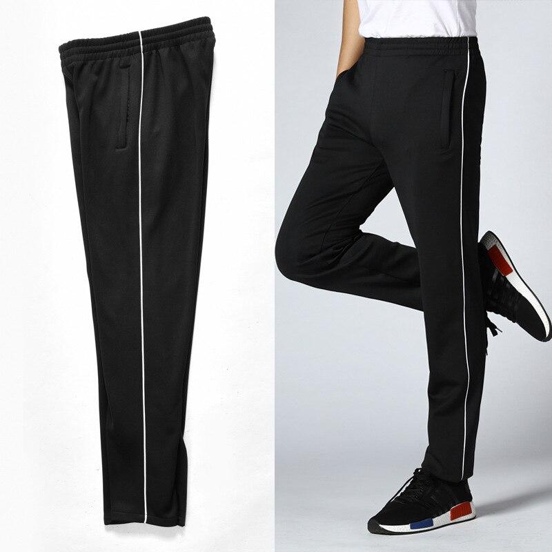 School Pants Sports Bar Junior High School High Long Pants Pants Strip Pants Men And Women Middle School Students Micro Elastic