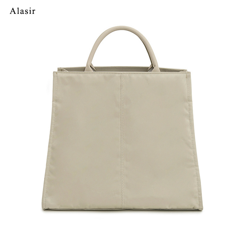 Alasir Waterproof  Vintage Pure Oxford Handbags For  Women Simple Briefcases Casual  Mens Bag Unisex Oxford Large  Laptop Bag