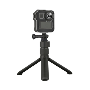 Image 5 - Aluminum Alloy Protective Cage Standard Frame with 2 Cold Shoe Mount for GoPro Max 360 Action Camera Live Streaming Vlog Parts