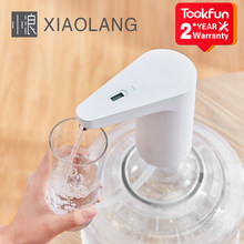 2020 XiaoLang su sebili otomatik dokunmatik anahtarı elektrikli su pompası taşma koruması TDS test USB şarj