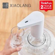 2021 XiaoLang Wasser Dispenser automatische Touch Schalter Elektrische Wasser Pumpe Überlauf schutz TDS test USB ladung