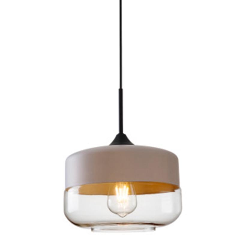 Nordic Modern Loft Hanging Glass Chandelier Lamps Led Chandelier Kitchen Restaurant Bar Living Room Bedroom
