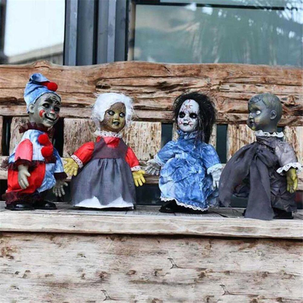 Игрушки страшного призрака, плюшевые игрушки для Хэллоуина, электрические игрушки, Ходячие мертвецы, призраки, СТРАШНЫЕ КУКЛЫ призраки 34 см кукла|Украшения своими руками для вечеринки|   | АлиЭкспресс - Упоротые игрушки