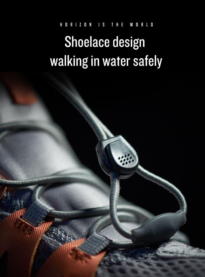 Rax masculino aqua upstreams sapatos de pesca