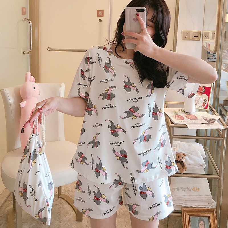 Ins Hot Sale New Arrival Pajamas For Women 100% Cotton Made Good Quality Casual Girl's Pyjamas Comfortable Night Sleepwear