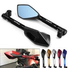 Specchi retrovisori per moto in alluminio CNC specchio antiriflesso blu per YAMAHA t max 500 TMAX 500 560 TMax 530 accessori moto